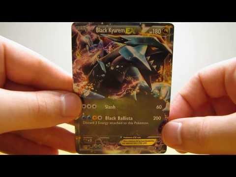 5 Black Kyurem EX and Rare Pokemon Cards (BCBM)