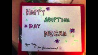 Happy Adoption Day Megan!