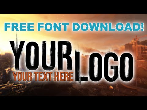 Create Your Own Dying Light Logo (FREE DYING LIGHT FONT DOWNLOAD)