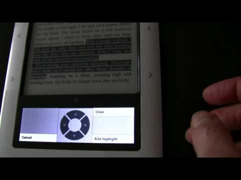 Nook eReader Review outside the US Part 2