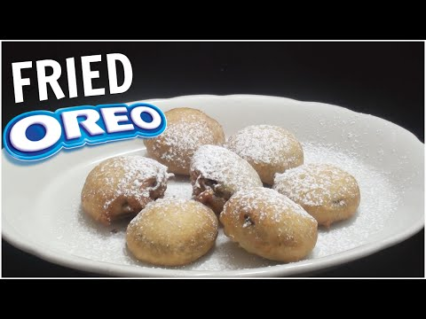 Fried Oreos | easy to make