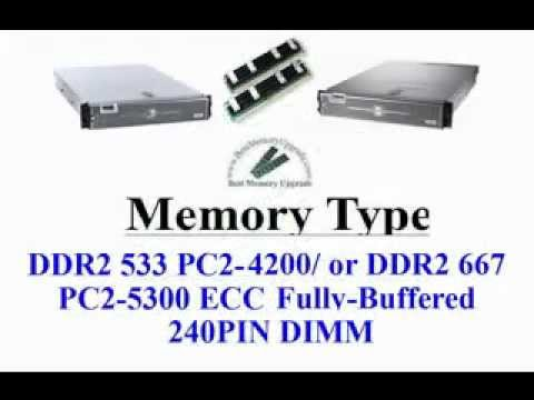 Compatible RAM Memory Upgrade Specifications of Dell PowerEdge 2950 Server Computer System DDR2 667