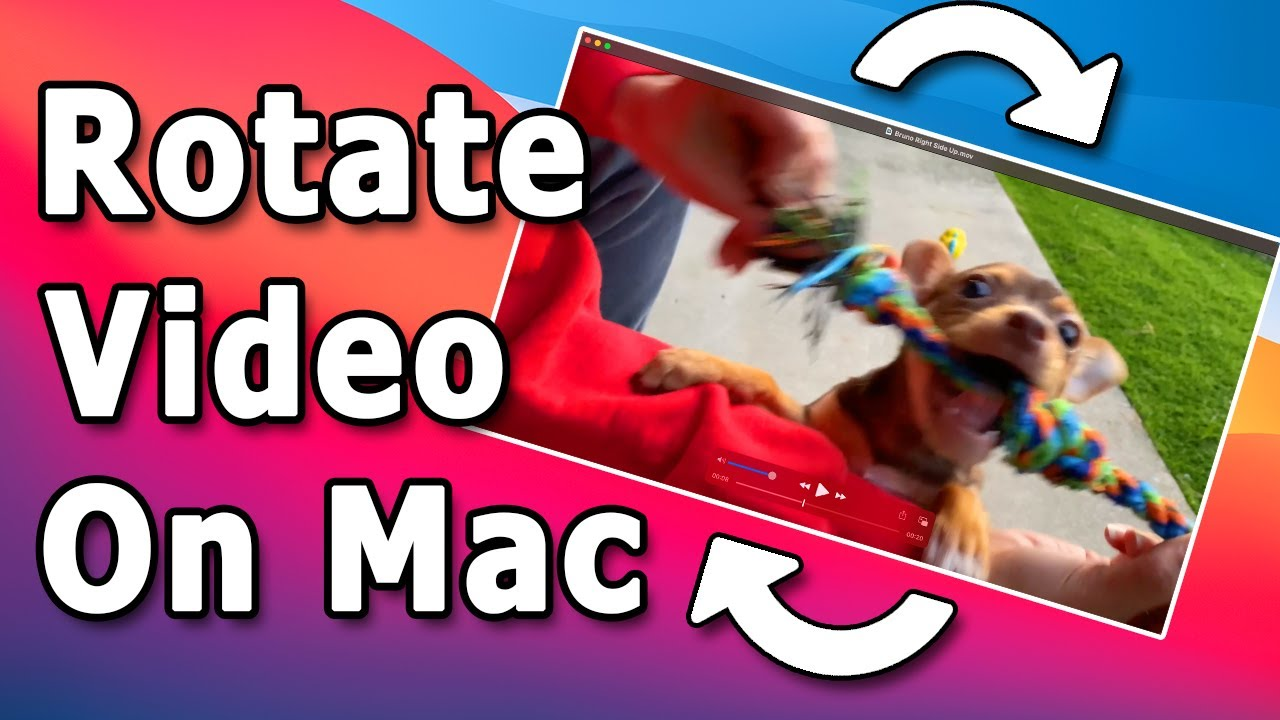 How to Rotate and Save Video on Mac Using QuickTime