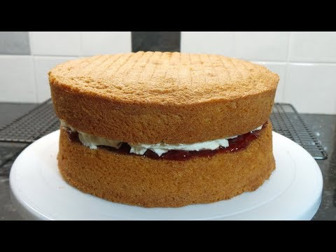 Victoria Sandwich Sponge   All in one method