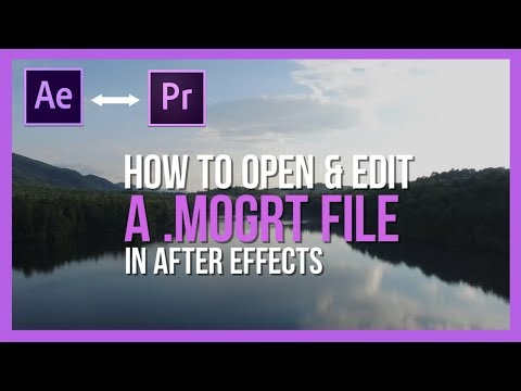 Quick Fix: How to Open a Motion Graphics Template in Adobe After Effects