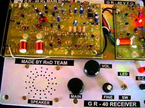 GR-40 Rx. model demo