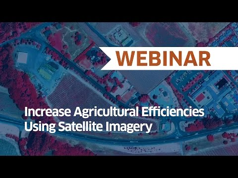 Increase Agricultural Efficiencies Using Satellite Imagery | Webinar