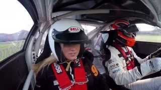 Porsche driver drives his girlfreind in a 991 gt3 Cup car