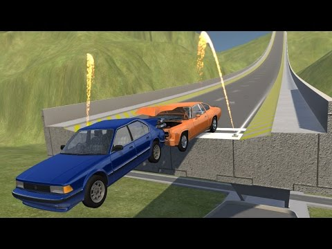 BeamNG.drive - Car Jump Arena
