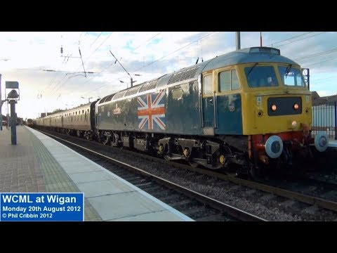 Trains at Wigan - 20th August 2012