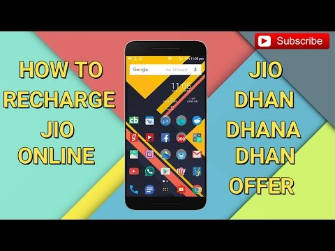 How to Recharge JIO Online