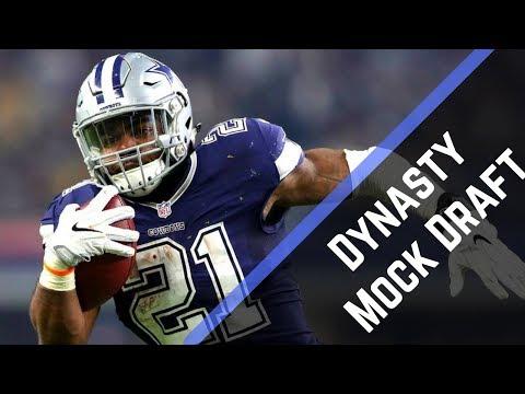 2017 Fantasy Football Mock Draft: Dynasty Startup