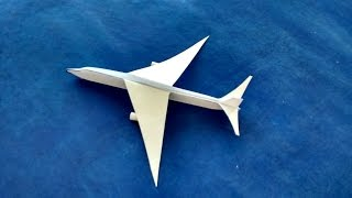 How To Make a Paper Airplane - How To Make a Paper Airplane That Flies Far - Paper Airplanes