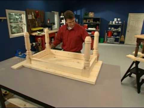 Kreg Jig® Skills: Legs and Rails