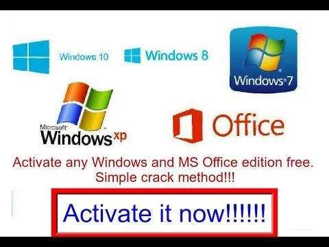How to Activate Windows 10.1/10/8.1/8/7/XP Permanently fix - Universal Crack