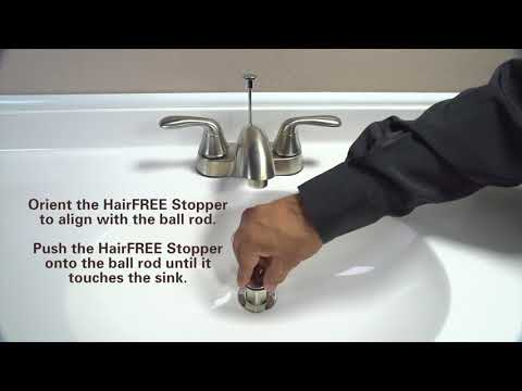 How to Replace a Pop-Up Stopper with HairFREE Stopper by PF WaterWorks