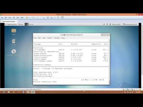 RHEL 7 KVM  Virtual Machine Prepartion