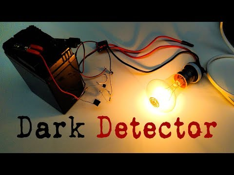 Make Automatic Night Light | DIY Dark Detector Sensor | Electronics Projects