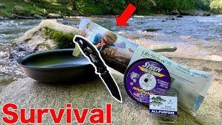 ULTIMATE SURVIVAL FISHING CHALLENGE!!! (No Food & No Water)