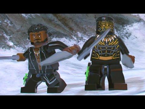 LEGO Marvel Super Heroes 2 - Golden Jaguar Suit & Killmonger Free Roam