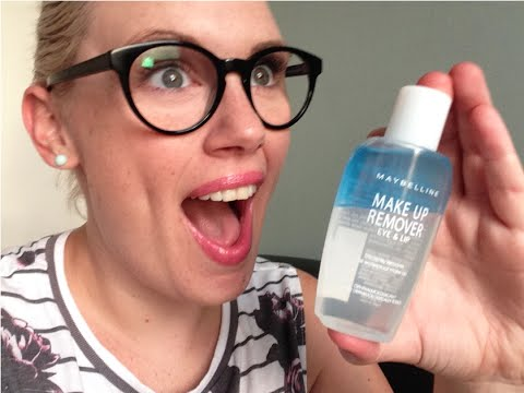 Two Minute Tuesdays | Maybelline Make Up Remover - removing long lasting products