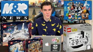 Download LEGO Disney Series 2 Minifigures! LEGO SPIDERMAN FAR FROM HOME SETS! Steamboat Willie! | LEGO NEWS! Video