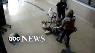 Surveillance camera shows teacher, nurse dragging boy with autism in Kentucky school