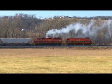 Indiana & Ohio Railway Chase, Genset RP20BD RailPower!  Now We're Talking!