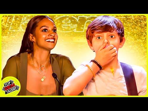 W.O.W! ALL 5 GOLDEN BUZZERS on Britain's Got Talent 2018!