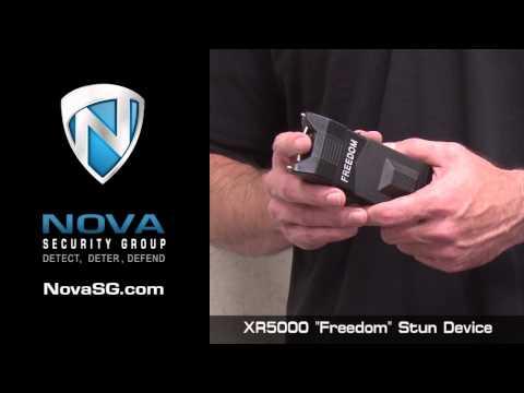 NovaSG.com Police Stun Device XR-5000 Handheld