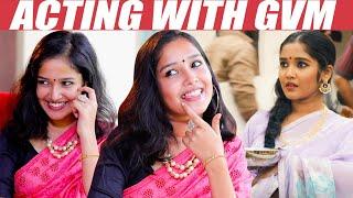 EXCLUSIVE:  Wearing Saree, GVM , Queen - Anikha Opens up   Viswasam