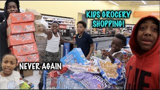 Took The Kids Grocery Shopping