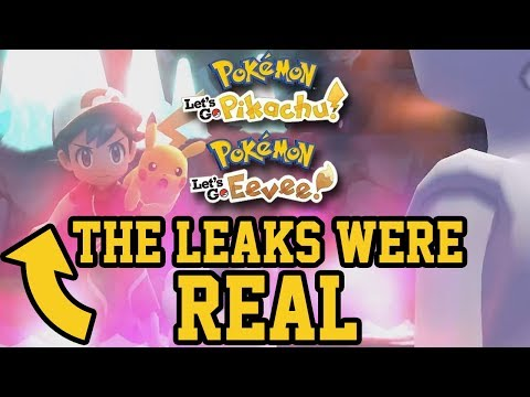 Pokémon Let's Go Pikachu & Eevee Reveal Trailer - Live Reactions & Discussions: First Impressions
