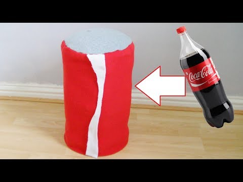 How To Make A Cola Can Stool From Cola Bottles