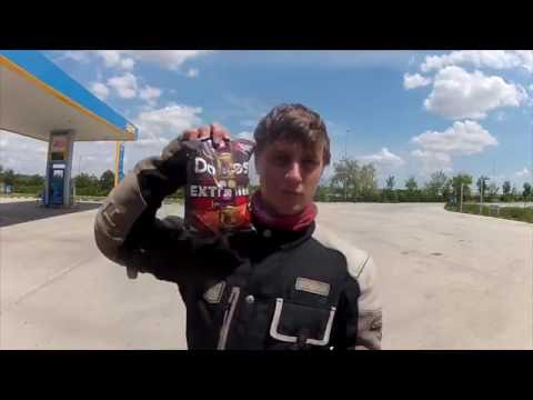 Motorcycle adventure London to Mongolia xt660z
