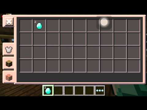 Minecraft pe Diamond glitch 0.10.4
