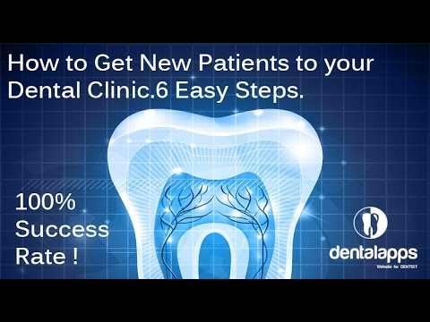 Dental Marketing - How to Get New Patients to your Dental Marketing