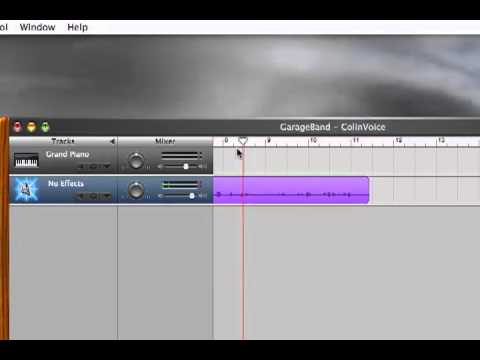Garageband - How to create a podcast on a Mac