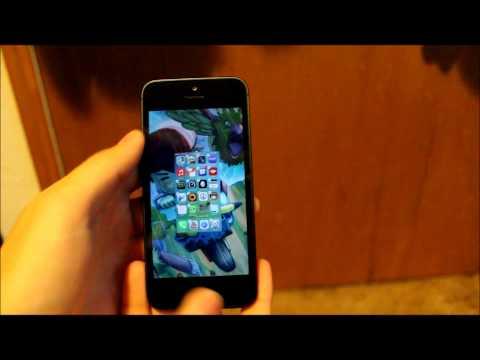 IOS 7 beta Folder glitch! Infinite 2013