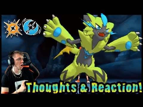 Thoughts and Reaction to Zeraora Release in Pokémon Ultra Sun and Pokémon Ultra Moon! @Poijz