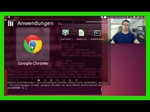 Google Chrome in Ubuntu Linux 14.04 über die Paketquellen installieren [deutsch/german]