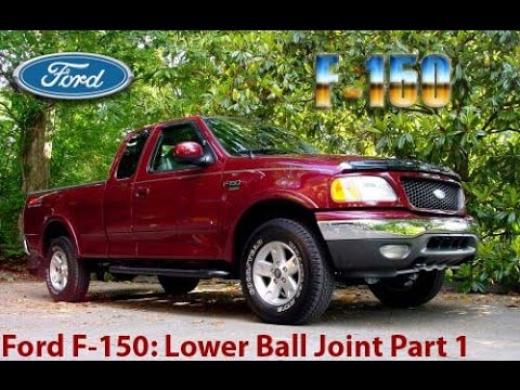 How to Replace a Lower Ball Joint on a Ford F150 Part 1