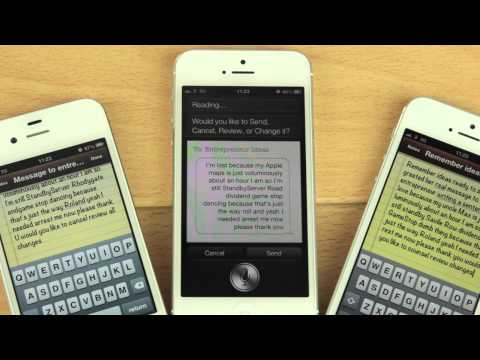 Siri Self - Siri Doesn't Understand Itself. iPhone 5 vs iPhone 4s