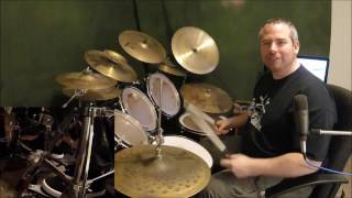 """How To Play Slipknot """"psychosocial"""" On Drums"""