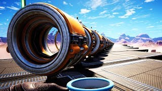 I Built a 600 Meter Human Cannon That Ends All Existence - Satisfactory