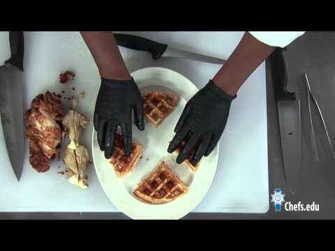 Chicken and Waffles Recipe - Le Cordon Bleu