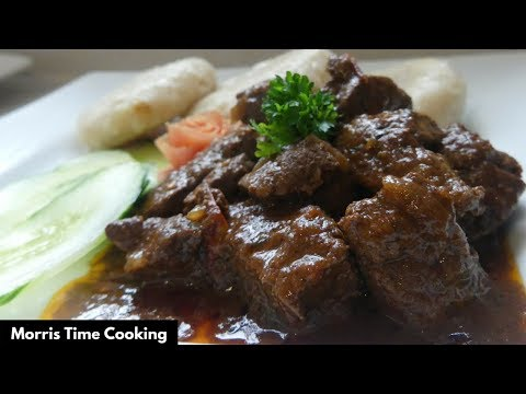 How To Make Jamaican Brown Stewed Beef  Liver | Lesson #28 | Morris Time Cooking