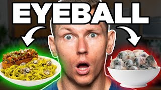 Can I Make Eyeballs Tasty? | FOOD FEARS