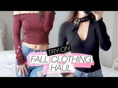 Fall Try-On Clothing Haul from HoneyBum! 2017