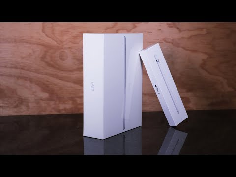 UNBOXING iPad 6th Generation and Apple Pencil